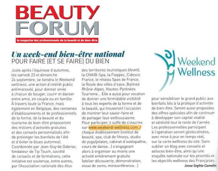 Article Beauty Forum WWell Nov 2017