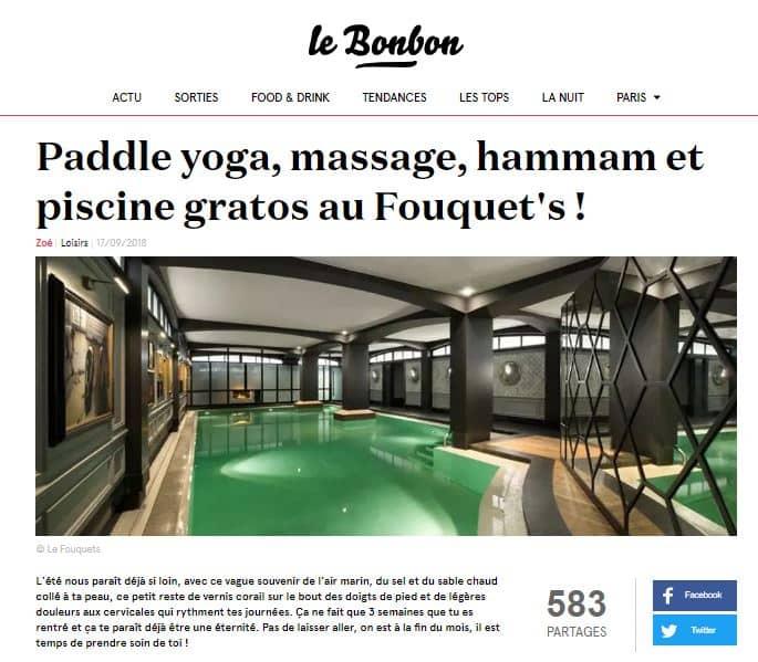 Article le Bonbon Fouquets 17 sept