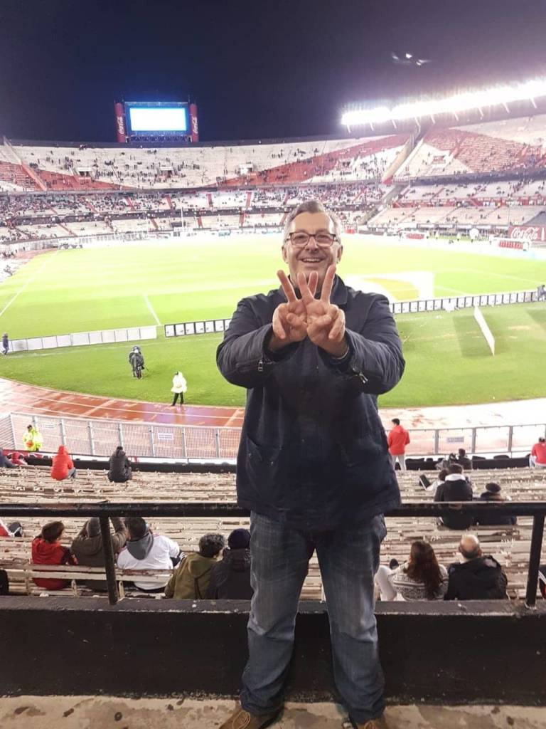 Eduardo Finci Wellness Ambassador ARGENTINA