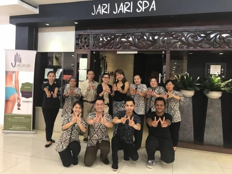 Jeanette Tambakau Jari Jari Spa Sabah MALAYSIA