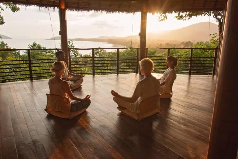 Kamalaya Yoga Pavilion Meditation THAILAND