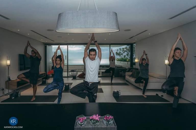 Kata Rocks THAILAND Yoga