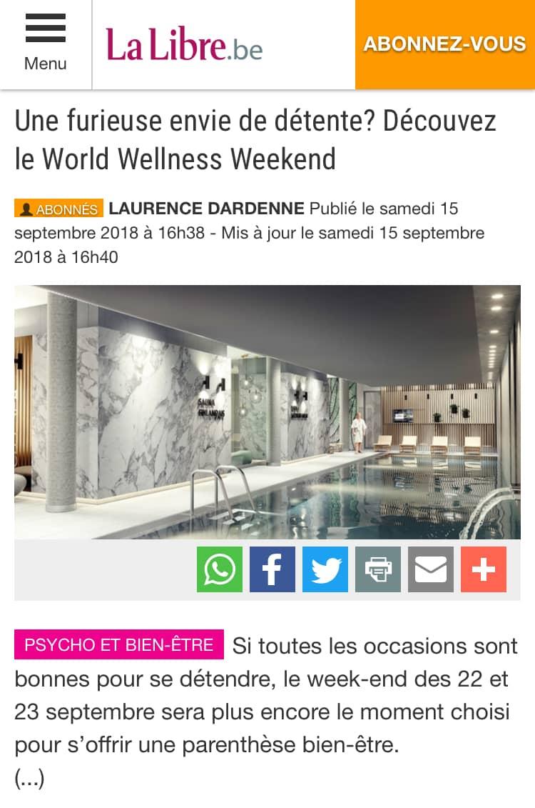 LaLibre Belgique 20180915