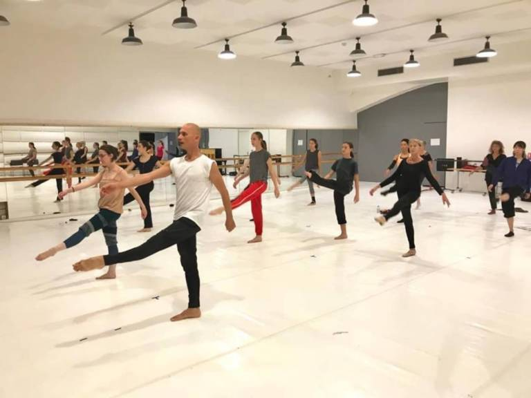 Le LAAC Danse workshop FRANCE