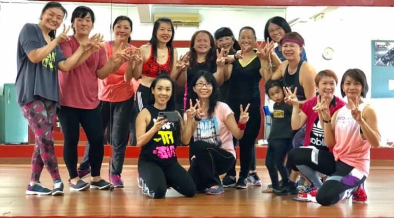 Michelle Koh Fitness Zumba Sabah MALAYSIA