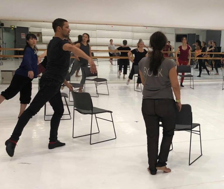 Nicholas Khan Le LAAC Danse workshop FRANCE