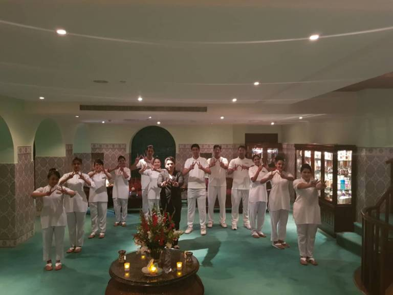 Serena Spa W Group Welfie Inside PAKISTAN