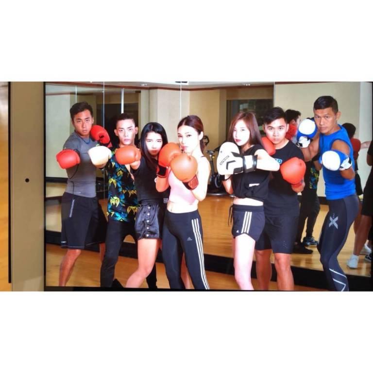 Shangri La Tai Pei TAIWAN Boxing