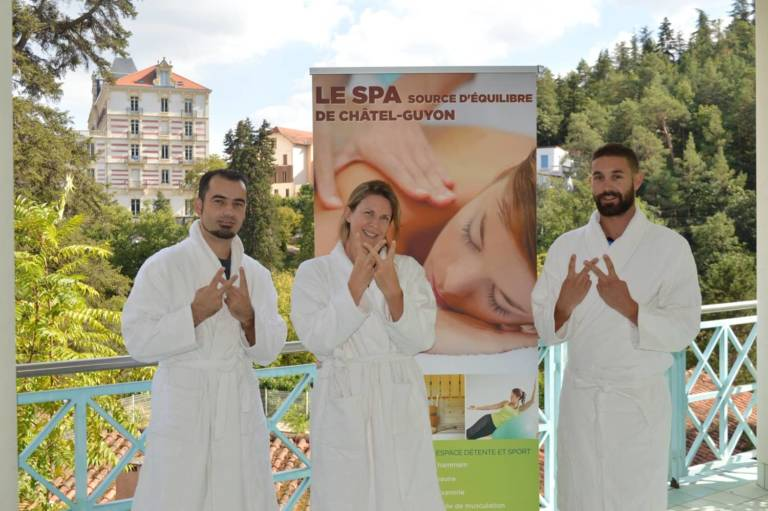 team Spa Source dEquilibre Chatel Guyon FRANCE