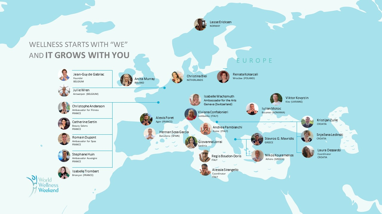 Ambassador map