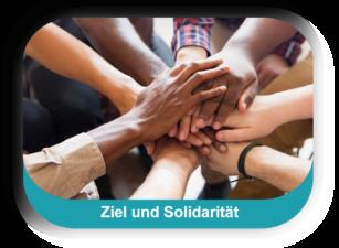 Ziel und Solidarität